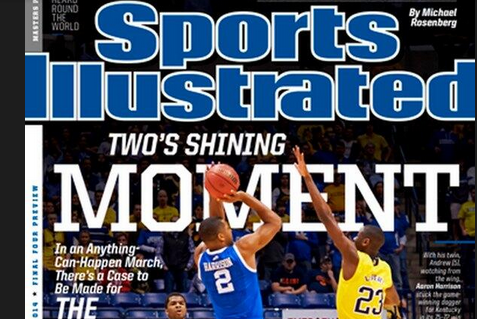 Aaron Harrison Is on the Cover of Sports Illustrated
