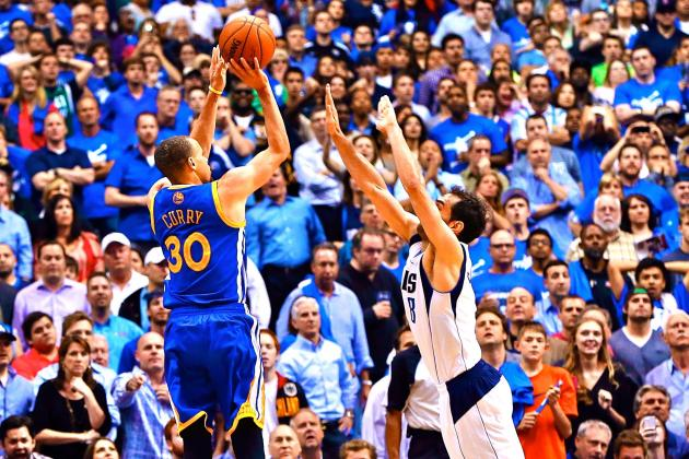 Stephen Curry Hits Ice Cold Game-Winning Shot vs. Dallas Mavericks