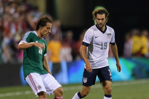 USA's Zusi Gets Tequila Gift from Writer for Saving Mexico's World Cup Hopes