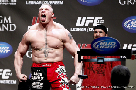 The Rock on Brock Lesnar: 'What He Did in MMA Was Epic and Historic'