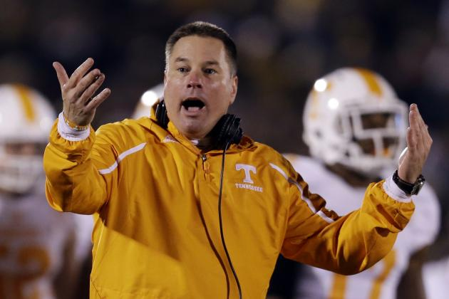 UT Vols Coach Butch Jones Challenges 'Soft' Defense