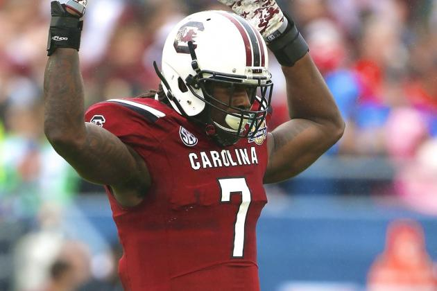 Jadeveon Clowney: Breaking Down South Carolina DE's Pro Day Workout