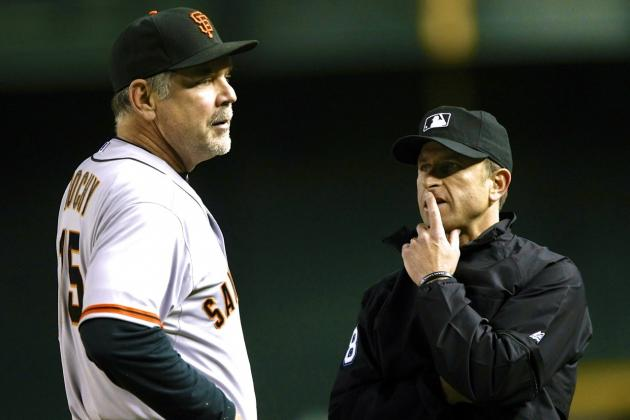 Giants-Diamondbacks Replay Gaffe Shows System Still Has Ways to Go