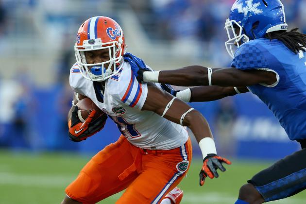 Florida Football: Demarcus Robinson's Spring Development Huge for Gators in 2014