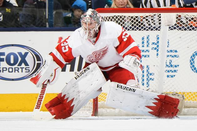 Red Wings' Jimmy Howard on the Brink of 150th Career Win
