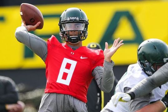 Marcus Mariota Increase Durability, Preserve Speed, Boost NFL Draft Stock?
