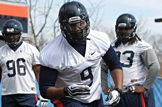 Virginia 5-Star Early Enrollee Andrew Brown to Miss Rest of Spring with Injury