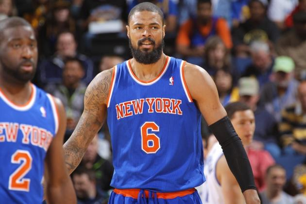 Tyson Chandler: 'Somebody's Going to Be in Trouble' If Knicks Make Playoffs