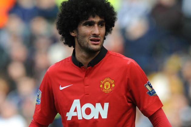Bayern Munich Draw Can't Disguise Marouane Fellaini's Manchester United Failings