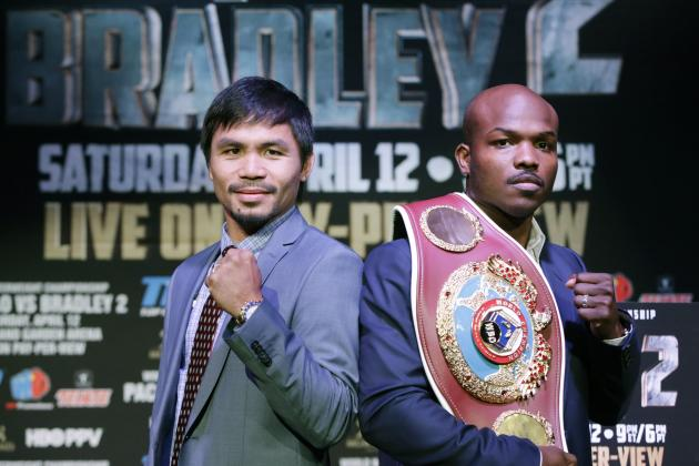 Manny Pacquiao Fight: Pac-Man Will Get Revenge in Rematch with Timothy Bradley