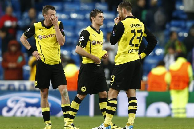 Borussia Dortmund's House of Cards Finally Collapses Against Real Madrid