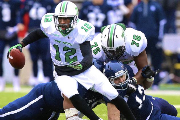 Meet Marshall QB Rakeem Cato, College Football's Most Underrated Player