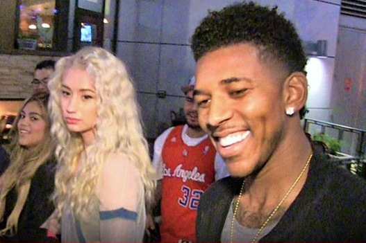 Rapper Iggy Azalea Says Laker Nick Young Took Her to Target on First Date