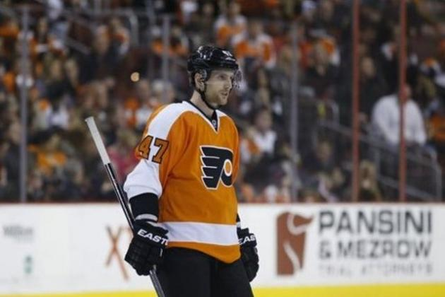 Analyzing Andrew MacDonald's Impact on the Philadelphia Flyers