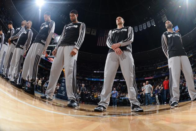 San Antonio Spurs' 19th Straight Win Nets 4th Division Title in a Row