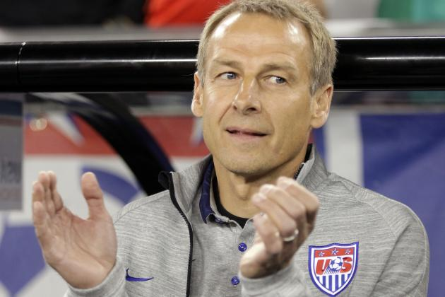 Jurgen Klinsmann Reacts When Eddie Johnson's USA Goal vs. Mexico Is Disallowed