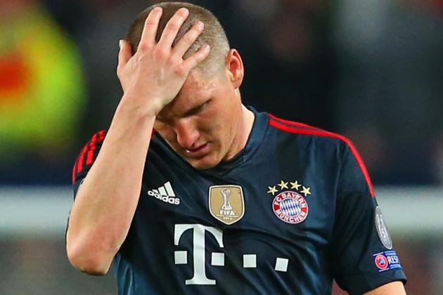 Bayern Munich Ban the Sun, Daily Mirror for Back Pages on Bastian Schweinsteiger