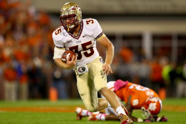 FSU TE Nick O'Leary in Another Motorcycle Accident, out for Spring