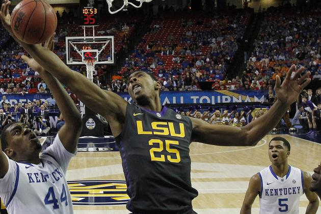 Process for LSU's Jordan Mickey Is About Gauging His Future