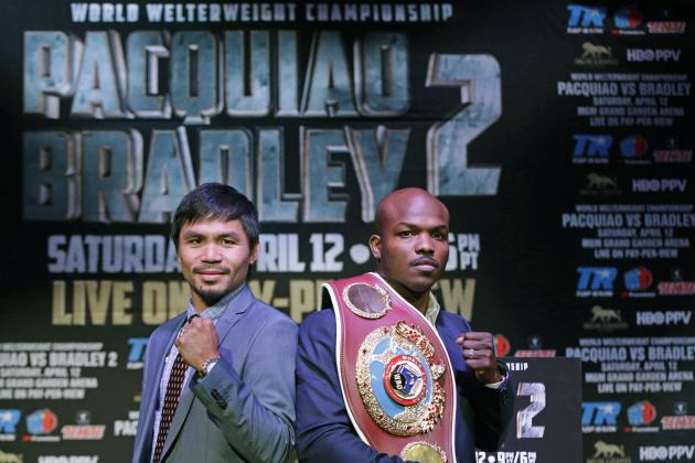 Pacquiao vs. Bradley 2: Epic Rematch Is Pac-Man's Most Important Fight Ever