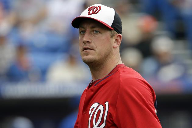 Nationals Scratch Jordan Zimmermann from Today's Start vs. Mets