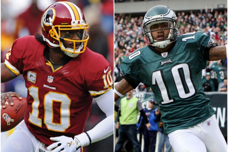 Robert Griffin III Keeping No. 10 Jersey Despite DeSean Jackson Signing