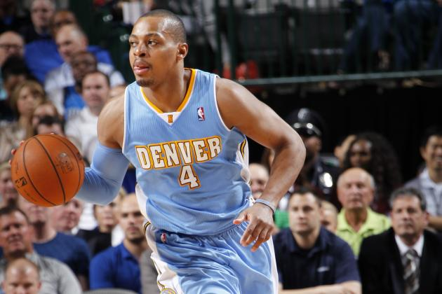 Randy Foye Climbing Nuggets' Single-Season 3-Point Chart