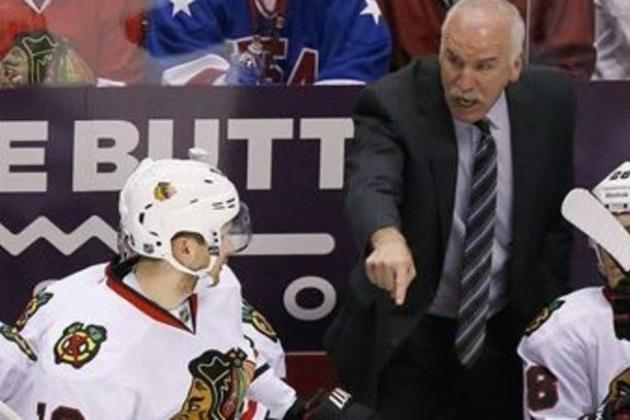 What Should Joel Quenneville Do to Get Chicago Blackhawks Out of Current Funk?