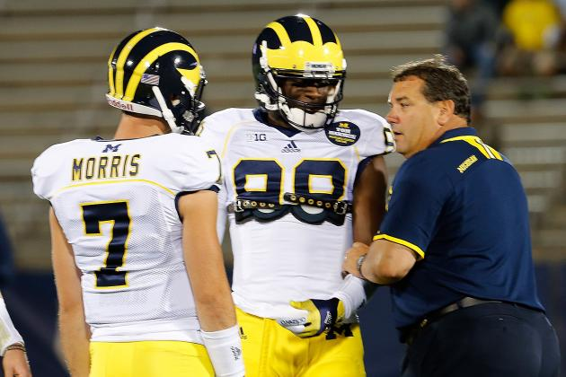 Michigan Football: Realistic Expectations for Wolverines' Spring Game