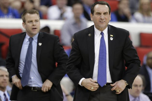 Mike Krzyzewski Leads List of Top-Paid College Basketball Coaches