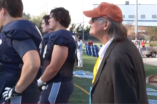 UNC Professors Attend Football Practice