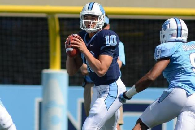 Redshirt Freshman Mitch Trubisky Eyes Quarterback Job