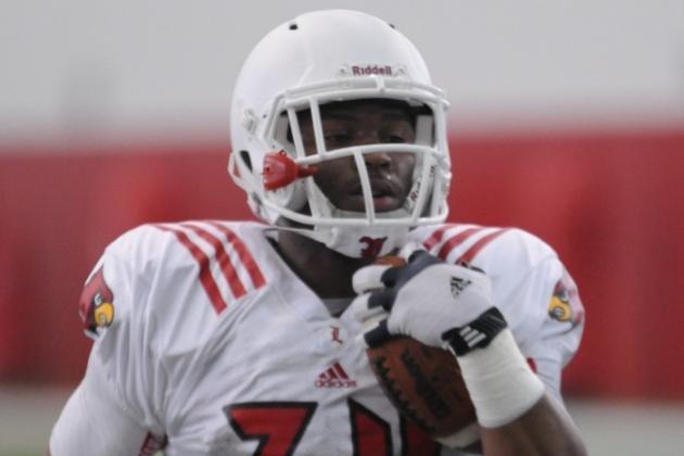 Louisville Football's L.J. Scott Moving Up Depth Chart