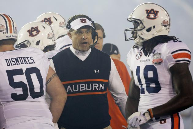 Auburn Football: Week 3 Spring Practice Stock Report