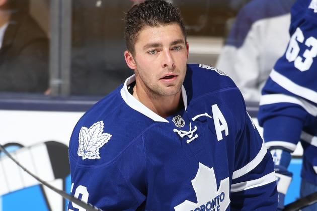Lupul out Tonight vs. Bruins with Lower-Body Injury