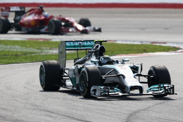Analysing the Size of Mercedes' Speed Advantage over F1 Rivals