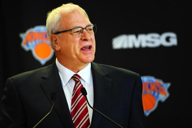 Phil Jackson Won't Let Powerhouse Sports Agency Control NY Knicks