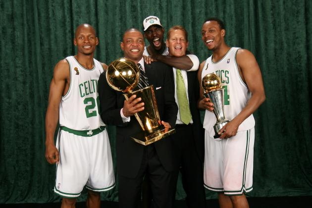 Danny Ainge Says He'll Root for Nets' Paul Pierce and Kevin Garnett in Playoffs