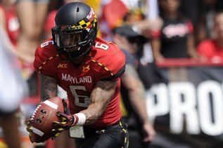 Deon Long Returns to Terps Football Practice After 'Freaky' Injury Last Season