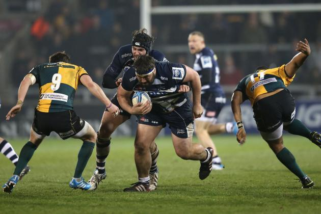 Sale Sharks 14 Northampton Saints 28