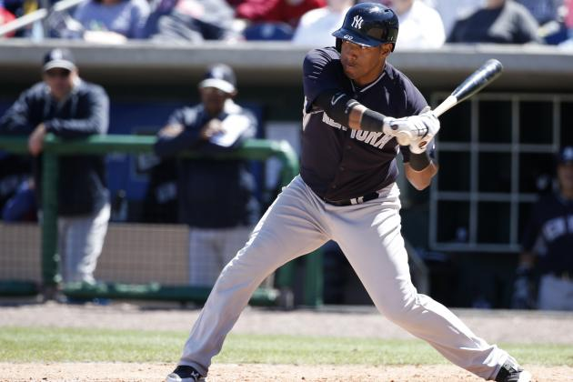 Yankees' Yangervis Solarte Drives in First Career Run in Most Unusual Fashion
