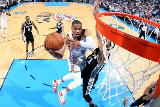 Are OKC Thunder the Real Western Conference Favorite Despite Spurs' Top Seed?