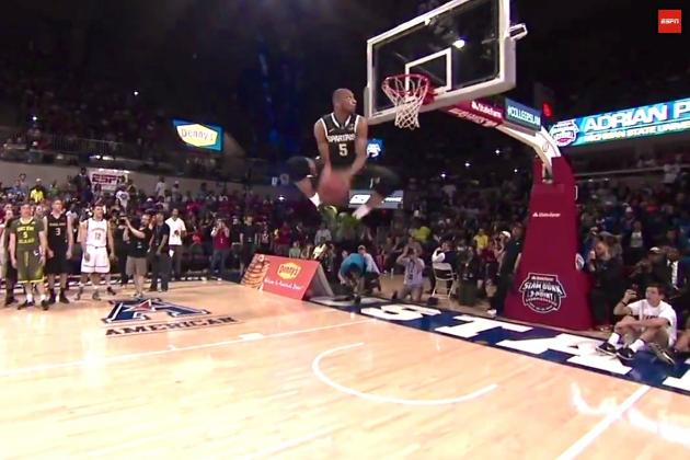 College Slam Dunk Contest 2014: Winner, Highlights and Twitter Reaction