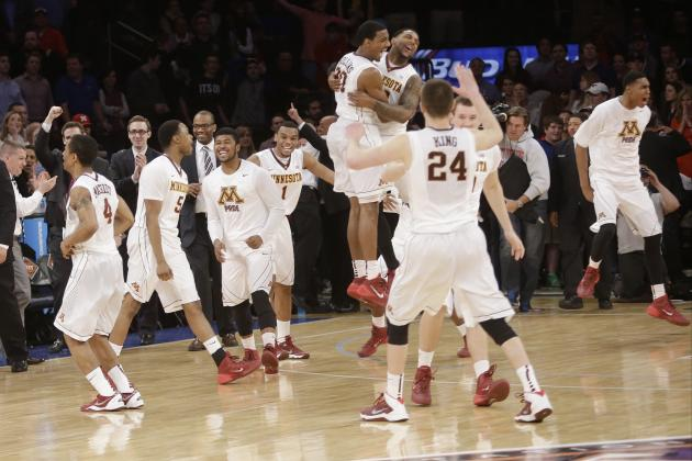 SMU vs. Minnesota: Live Score and Highlights for 2014 NIT Finals