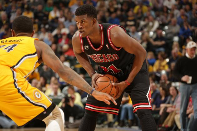 Jimmy Butler: I'll Play 48 Minutes Per Game in Playoffs