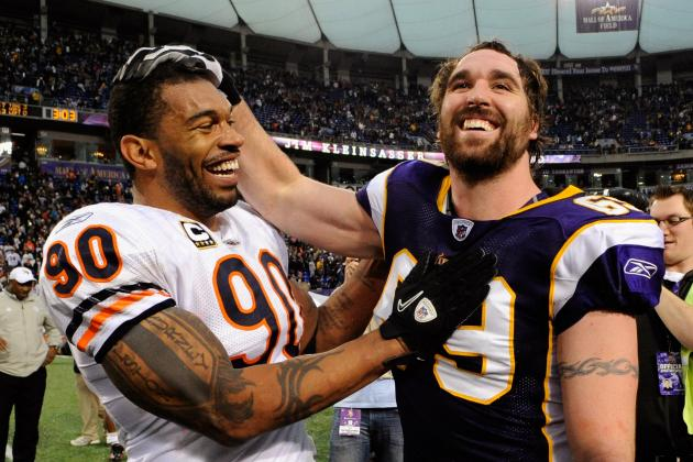 Julius Peppers vs. Jared Allen: Who Is in Better Position for Super Bowl Run?