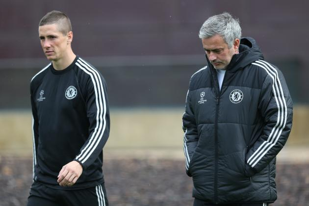 Jose Mourinho Tells Fernando Torres His Chelsea Career Is Not Over