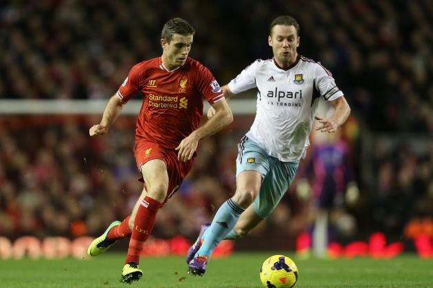 West Ham vs. Liverpool: Date, Time, Live Stream, TV Info and Preview