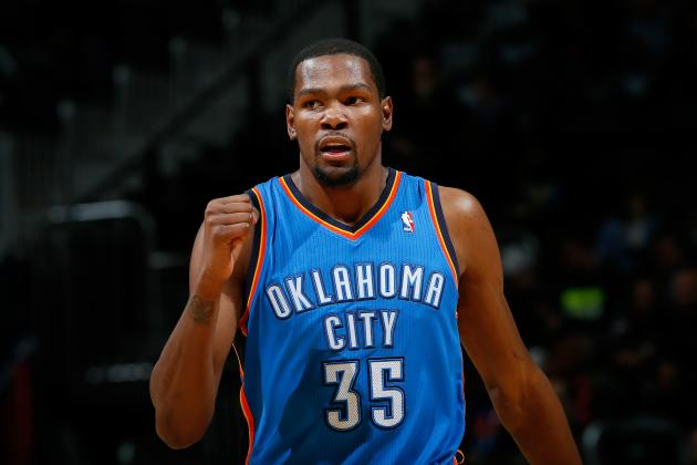 Kevin Durant Ties Michael Jordan with 40 Straight Games with at Least 25 Points