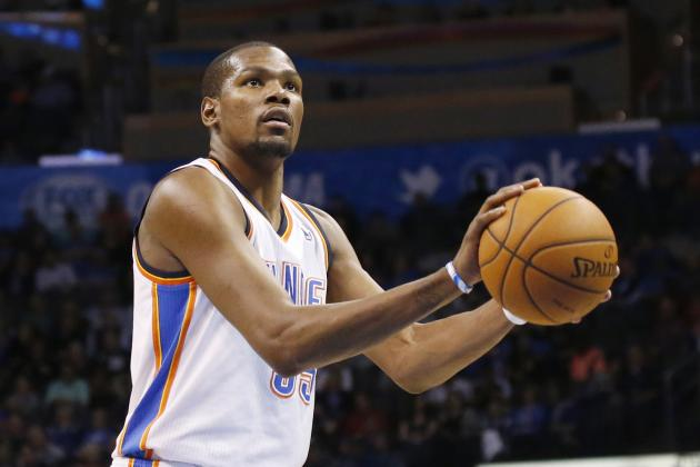 Kevin Durant One Game Away from Tying Michael Jordan's Scoring Streak